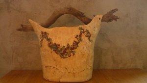keramické džbány
