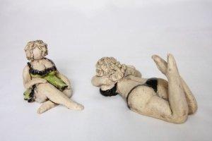 keramické plastiky figurální